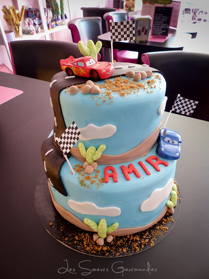 gateau_3d_cars